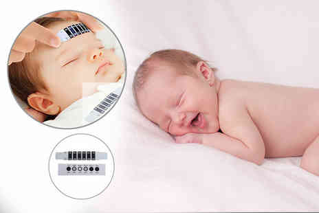 The Wholesale Group - 10 baby forehead thermometer strips - Save 58%