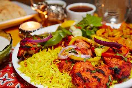 Shimla Pinks - Two Course Indian Meal for Two or Four - Save 2%