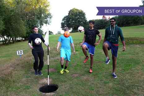 London Golf and Foot Golf Centres - 18 Holes of Foot Golf with Ball Hire for One or Two - Save 38%