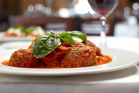 Milano Ristorante Italiano - Two Course Italian Meal with Wine for Two or Four - Save 52%