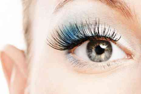 Premier Hairdressing - Eyelash Extensions Plus Eyebrow Shape and Tint - Save 79%