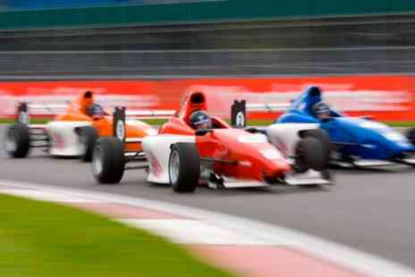 Association of Racing Drivers Schools - Formula Silverstone Single Seater Experience plus Race Tickets - Save 0%