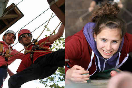 into the blue - 90 Minute High Ropes Courses at  5 UK Venues - Save 0%