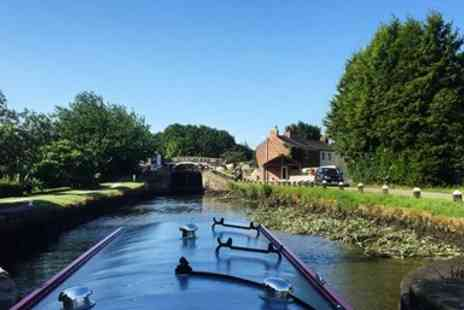 Lancashire Canal Cruises -  Full Day Canal Barge Hire  - Save 50%