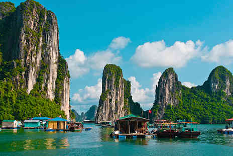 Halong Tours Booking - Ten or Fifteen  Days Vietnam tour including internal flights, accommodation, trips and cruise  - Save 67%
