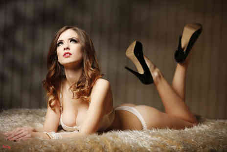 The Click Group - Boudoir or dudoir photoshoot including two prints and a CD  - Save 98%