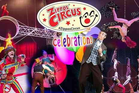 Zippos Circus - Circus Zippos Front View Ticket on 29 April to 31 May - Save 50%