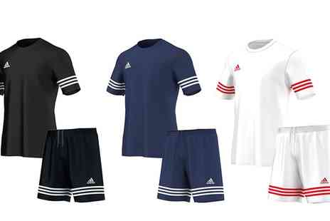 Salvador Company - Adidas Entrada Sports T Shirt and Shorts Set in Choice of Colour - Save 0%