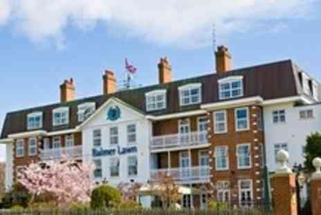 Balmer Lawn Hotel - Two Night Stay For Two With Breakfast in Brockenhurst Hampshire - Save 54%