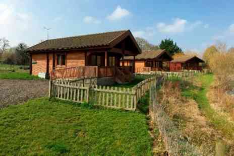 Watermeadow Lakes & Lodges - One Night Self Catering Lodge Stay For Four - Save 0%