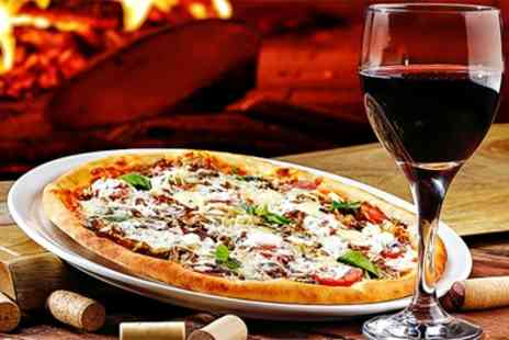 Da Maria - Pizza, Calzone or Pasta with a Glass of Wine for Two or Four - Save 49%