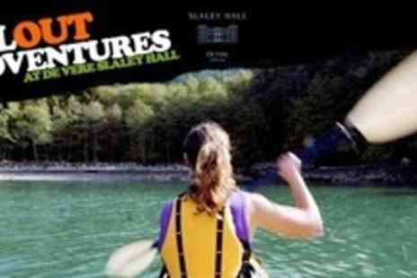 Allout Adventures - Kayaking or Canoeing Experience For Two - Save 64%