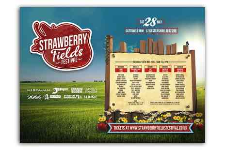 Strawberry Fields Festival - Strawberry Fields Festival One or Two Adult Tickets on 28 May - Save 58%