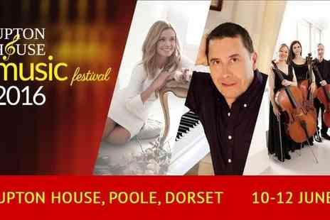 Upton House Music Festival - Katherine Jenkins, Jools Holland or Bournemouth Symphony Orchestra Upton House Music Festival Tickets  - Save 13%
