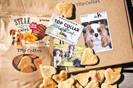 Top Collar - Dog Treats Subscription for One or Two Months - Save 50%