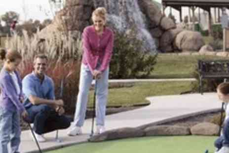 Sandbanks Crazy Golf - One Family Passes to Boscombe Chine Gardens - Save 63%