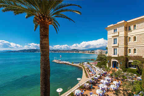 Hotel Belles Rives - Five Star 5 nights Stay in a Deluxe Sea View Room - Save 70%