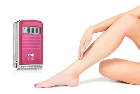 Photo Therapeutics -  no!no!  Plus professional hair removal device in red - Save 59%