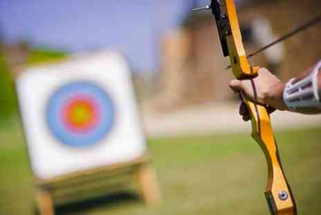 Unlimited Events - 2½ hour axe throwing, air rifle and archery experience for one  - Save 56%