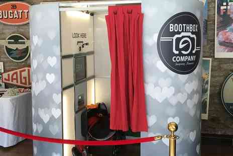 BoothBox Company - Two or Three Hour Photobooth Hire with Props and Unlimited Prints and Optional Marryoke - Save 0%