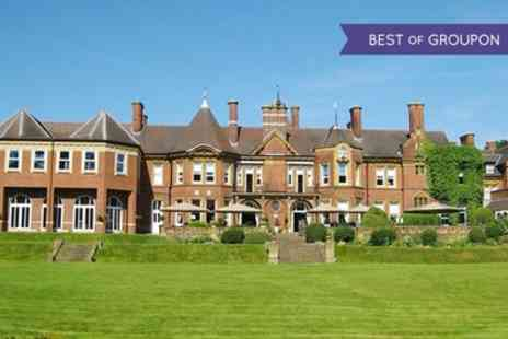 Moor Hall Hotel and Spa - One or Two Nights Stay For 2 With Breakfast, Spa Access and Drayton Manor Park Tickets - Save 0%