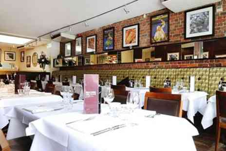 Brasserie Vacherin Croydon -  Three Course French Meal & Wine for 2 - Save 51%