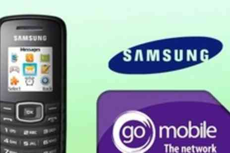 affordablemobiles.co.uk - Samsung E1080 Mobile Phone with £19 for Pay As You Go Phone Including £25 Credit - Save 52%