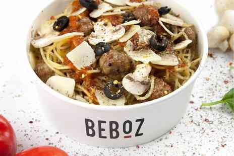 Beboz Italian Street Food - Italian street style meal with optional extras and a drink for two  - Save 52%