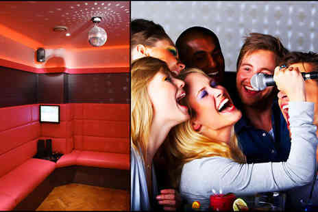 Nine Rooms Karaoke - £19 for a private karaoke room for two hours for up to six people, including a cocktail pitcher worth £63 - Save 70%