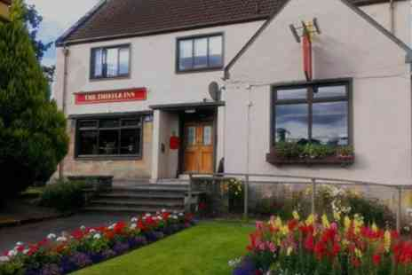 The Thistle Inn Cumnock - One Night Stay For Two With Breakfast With Option For Dinner and Afternoon Tea  - Save 0%