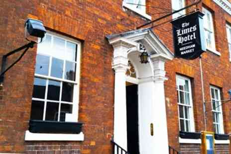 The Limes Hotel - Suffolk Overnight Stay with Dinner  - Save 37%