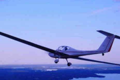 Hinton Pilot Flight Training - One hour motor gliding experience - Save 71%