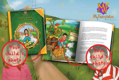 My Fairytales - Childrens personalised My Farm Adventure book - Save 45%