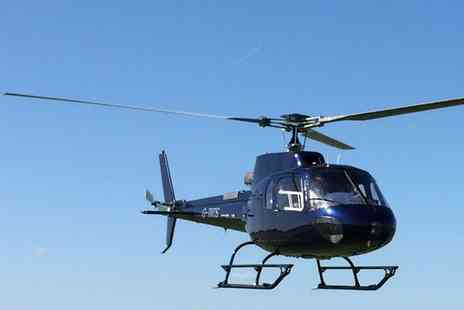 Heli Adventures - Helicopter Buzz Flight, Pleasure Flight or Sightseeing Tour - Save 44%