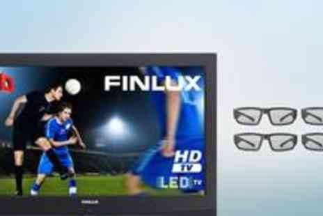 "Finlux Direct - Finlu 32"" LED HD 3D TV - Save 50%"