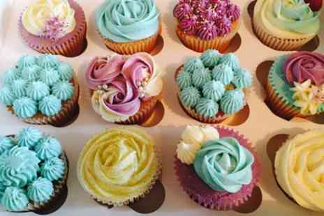 Nadia Rae Afternoon Tea - Cupcake Decorating Masterclass for One or Two - Save 51%