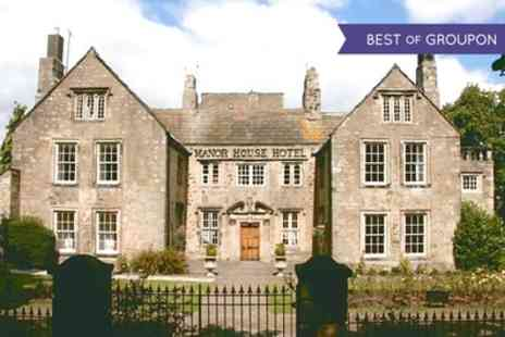 The Manor House Hotel  - One or Two Nights Stay For 2 With Breakfast, Spa Access and Treatment  - Save 0%