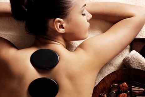 Definitions Hair and Beauty - Full Body Hot Stone Massage with Optional Facial - Save 71%
