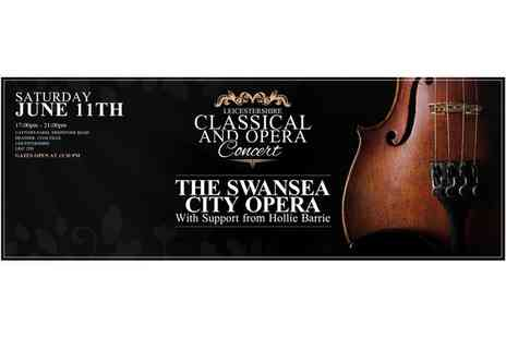 Leicestershire Classical Concert - Leicestershire Classical Opera Concert One or Two Tickets on 1 June - Save 56%