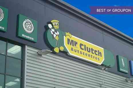 Mr Clutch Autocentres - Car Air Conditioning Service and Antibacterial Clean - Save 49%