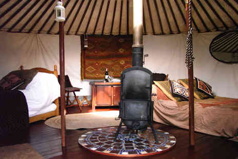 Full Circle Luxury Lake District Yurts - Up to four night luxury Lake District glamping break for up to six  - Save 48%