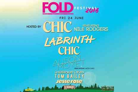 Robomagic Live - Friday Standard or Gold Circle Ticket to FOLD Festival 2016 On 24 June - Save 0%