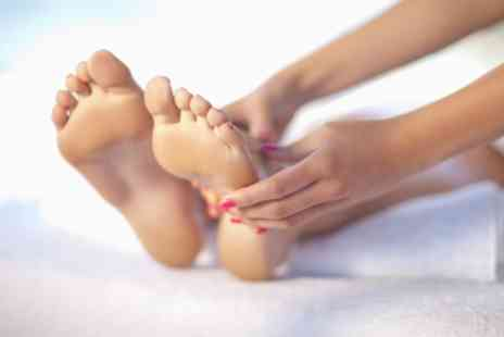 Nail Garden and Spa - Classic Pedicure, 30 Minute Foot Massage or Both - Save 50%