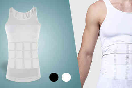We can make it - One or Two Mens Compression Vest Two Colours - Save 0%