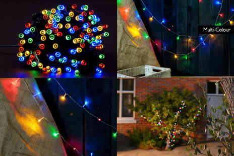 Heads Group - 50 LED multi coloured fairy lights - Save 75%