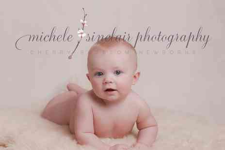Michele Sinclair Photography - Watch Me Grow Baby Photoshoot Package - Save 84%