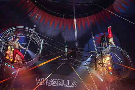 Russells International Circus - One, Two or Four Front Circle Tickets, 28 April To 2 May - Save 60%