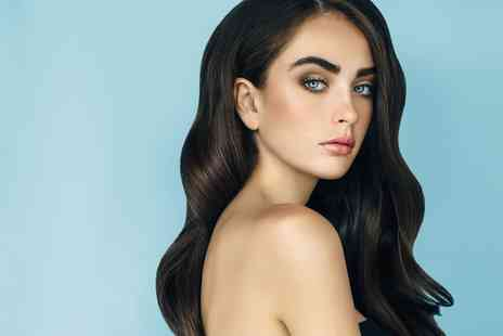 The Edge Hair and Beauty - Cut and Blow Dry With Head Massage and Deluxe Manicure - Save 36%