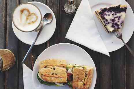 Sweet As Candy Coffee Lounge - Lunch Meal with Cake and Tea or Coffee for Two or Four - Save 0%