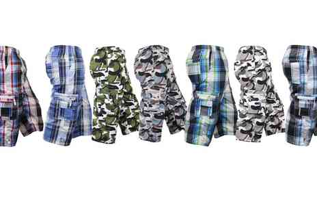 Groupon Goods Global GmbH - Mens Fashion Shorts in Choice of Colours, Sizes and Designs - Save 0%